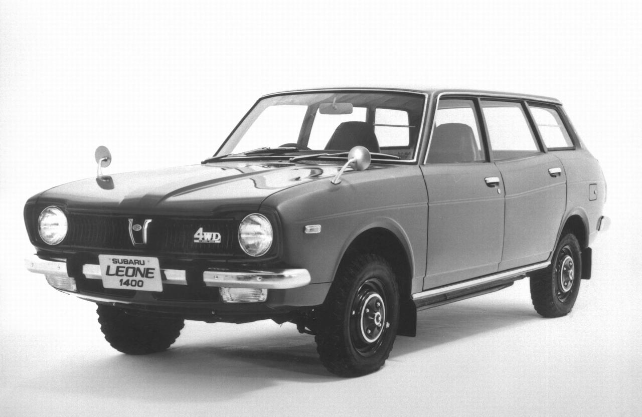 SUBARU - Leone - 1ª Geração Coupé, Sedan e Wagon - 1971-1981