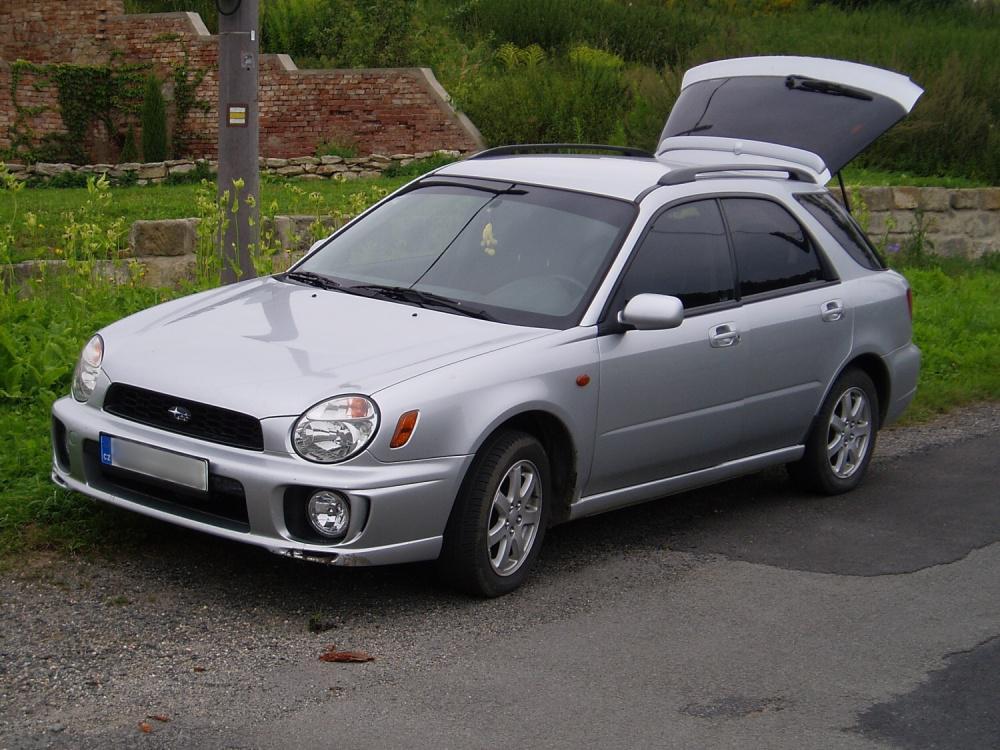 2002 Subaru Impreza I Gc Gf Gm Combi 92 Kw